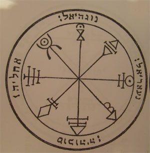 talismanes de Venus. Pantáculo 1º sello de Salomón