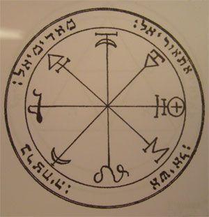 talismanes de Marte, sellos de Salomón