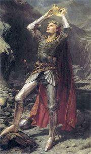 El rey Arturo leyena de como fue su coronación
