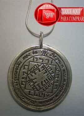 talismán del sol tercer pantáculo en plata