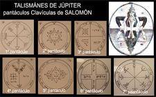 talismanes de Salomón, clavículas sellos