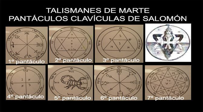 talismanes de Marte