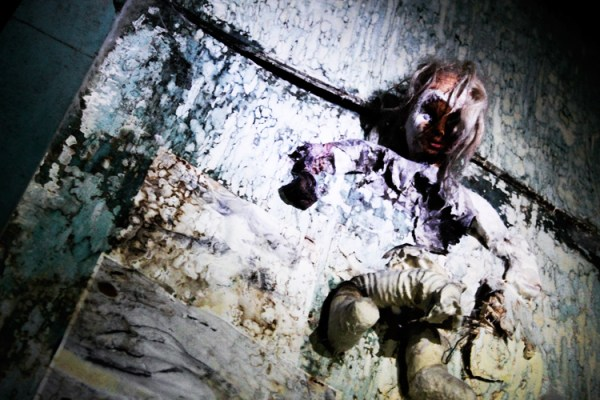 Creepy Dolls in the Tunnel of Terror