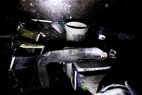 Left Behind - Haunted House Debris
