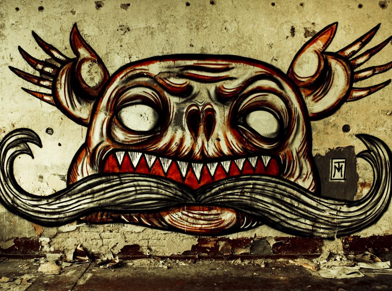 Hands Graffiti - Abandoned Bernau Berlin