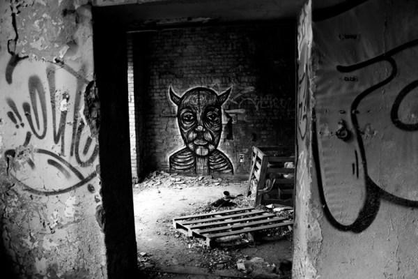 Devil's Advocate - Dark Graffiti