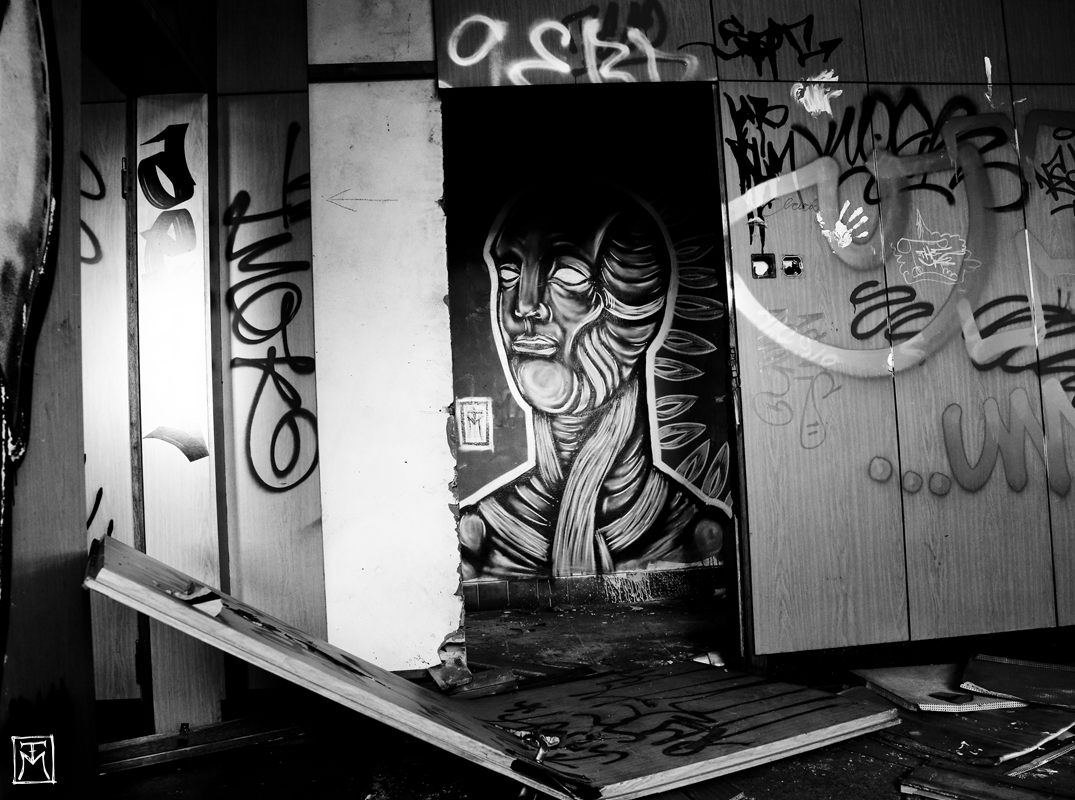 Ice - Abandoned Berlin Graffiti