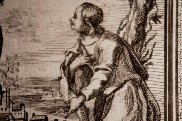 Sermones Sacri - Macro Detail of Interior Print