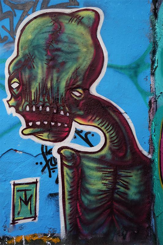 Graffiti Sketches - Alte Feuerwache Berlin