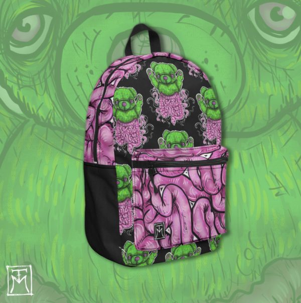 Teddy Testines Illustration Backpack