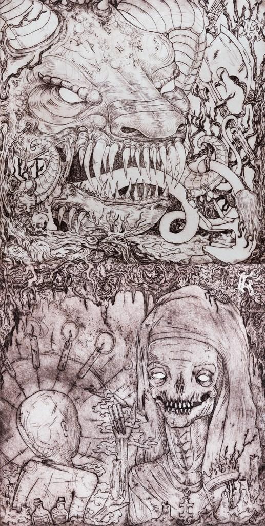 Kadavrik Grimm I + II Album Art
