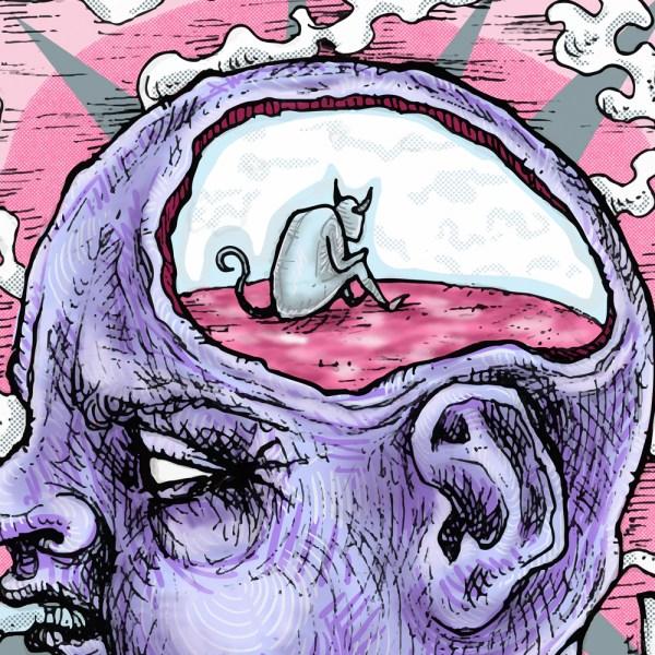 Dreams Dreaming head demon detail