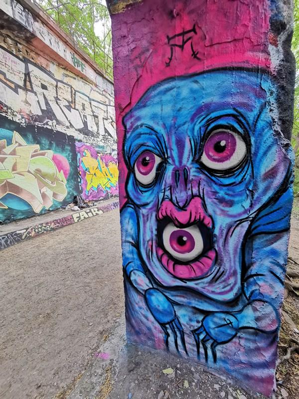 Eyeball Mouth Demon