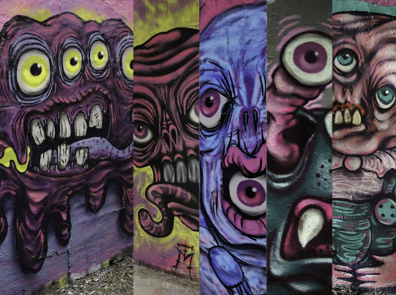 Priesterweg Graffiti Murals