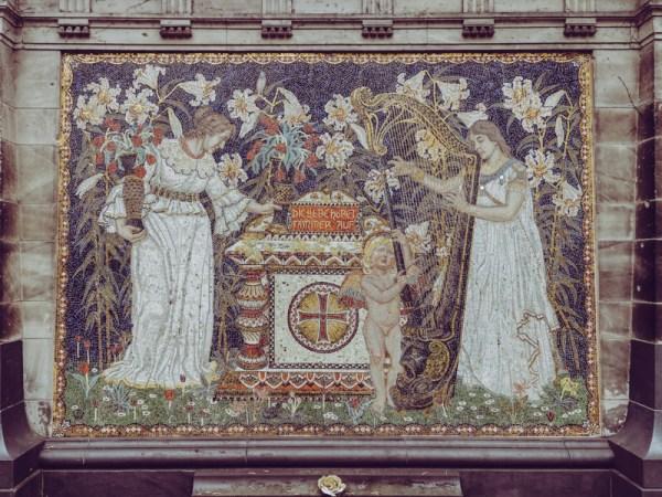 Intricate Mosaic Work