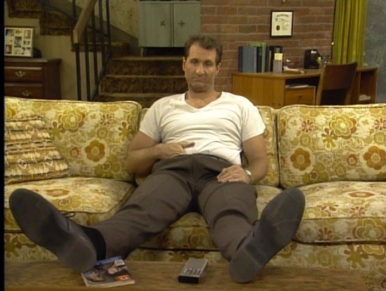 Al Bundy in Married ... With Children