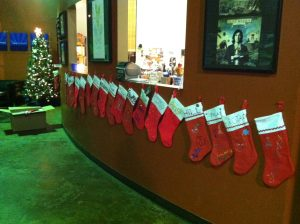 So many more stockings this year!