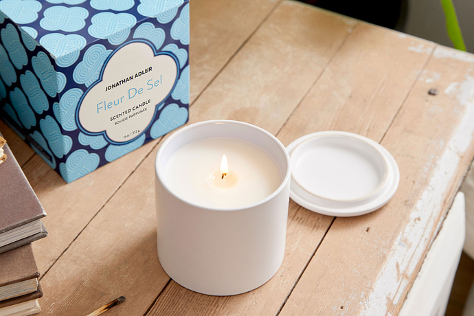 FabFitFun Winter 2019 Box Spoilers + Promo Code | Jonathan Adler Fleur De Sel Ceramic Candle