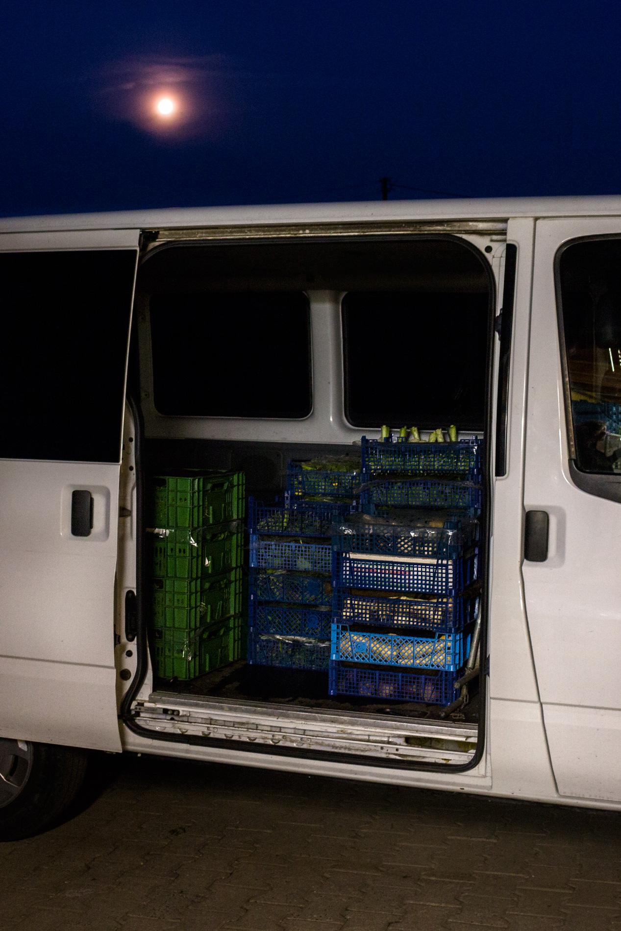 Bus gepackt