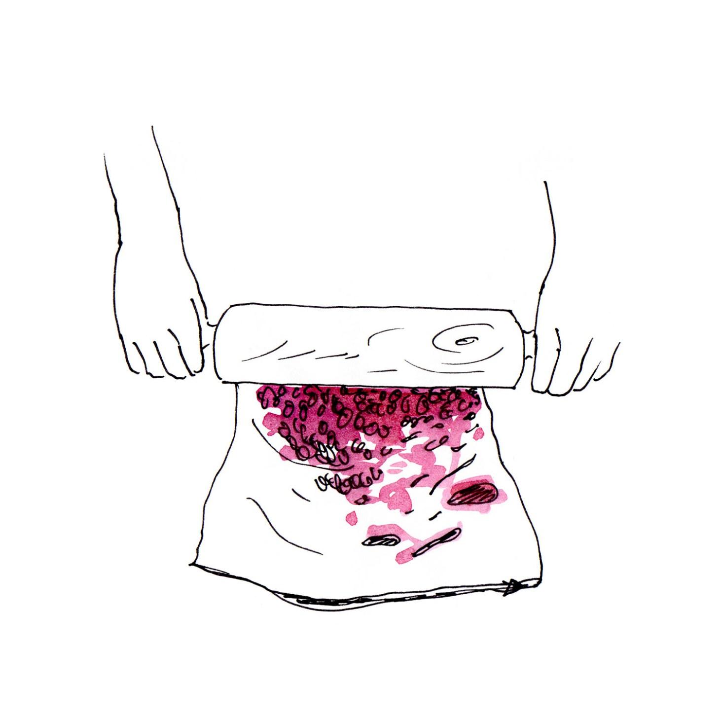 Granatapfel öffnen 11