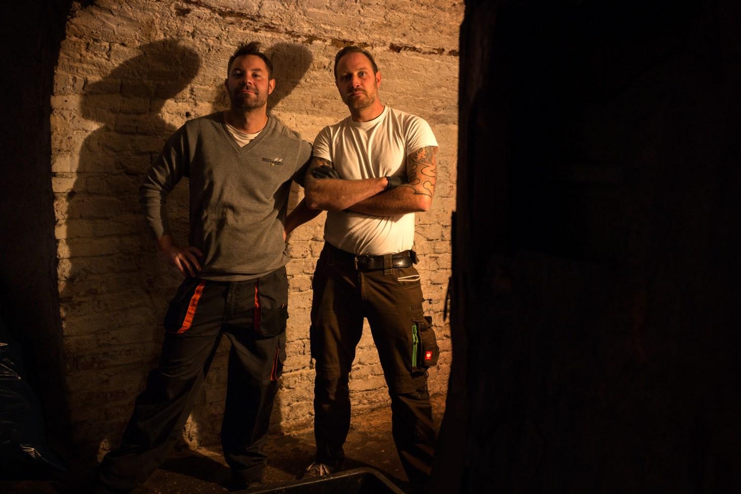 Pilzzucht, Mathias Kroll und der Koch
