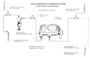 1967 Chevy Master Cylinder Diagram Diagram Auto Parts