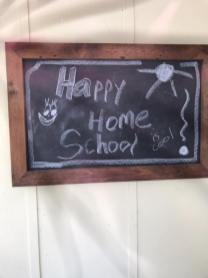 Monday, March 16, 2020 – Happy Home School! New Orleans, LA. Bridget Ann