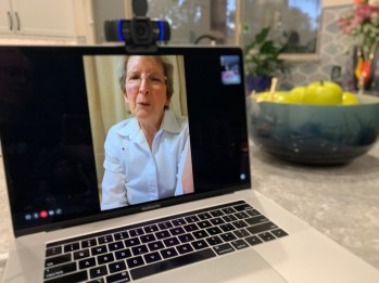 Tuesday, March 17, 2020 – Family dinner through FaceTime. Phoenix, AZ. David Covington