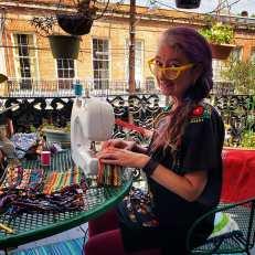 Friday, April 24, 2020 – Maskmaker, Maskmaker. New Orleans, LA. Heather Macfarlane