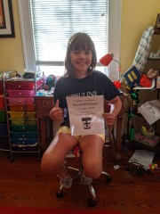 Monday, September 14, 2020 – First day of (virtual) 7th grade! New Orleans, LA. Amy Alvarez.