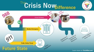 Crisis in most communities is piecemeal or non-existent, but a common flow does exist