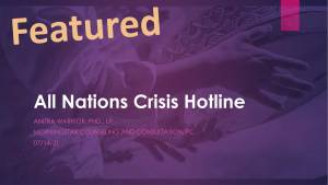 All Nations Crisis Hotline