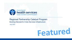 Regional Partnership Catalyst Program
