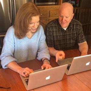 Dr. Andrea Wojnicki & producer Brian Campbell