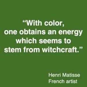 colour quote Henri Matisse