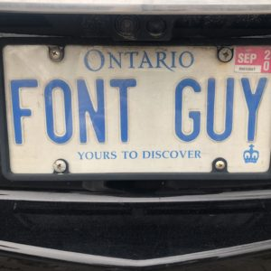 The FONT guy
