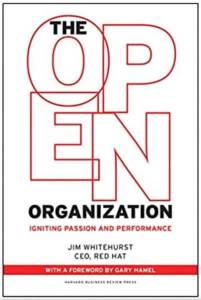 Open Organization book about competition by Jim Whitehurst