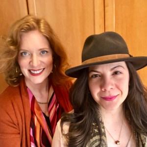 Dr. Andrea Wojnicki & emotions researcher Tatiana Astray