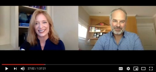 Andrea Wojnicki & Chris Besse at the Ensemble Future of Learning conference, October 2020