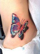 tattoo borboleta 3d 2