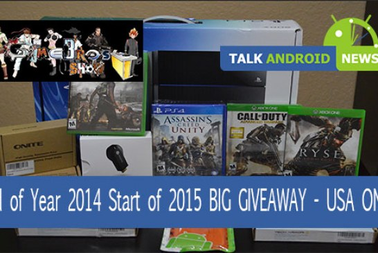 End of Year 2014 Start of 2015 BIG GIVEAWAY – USA ONLY