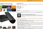 Deal Alert: Amazon Fire TV On Sale for $79 with Amazon Prime | Limited-Time Offer