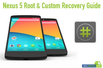 Nexus 5 Root & Custom Recovery Guide