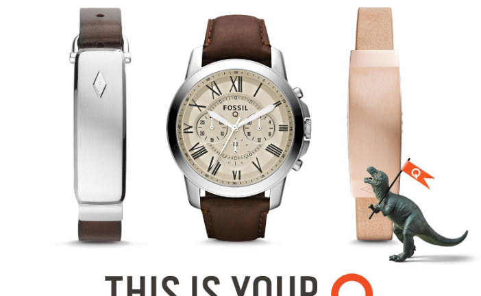 Fossil has a smart watch and it's named Q Founder