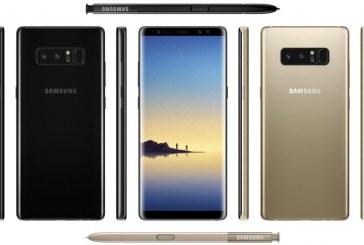Samsung Galaxy Note 8 Latest specs Leak via Evan Blass