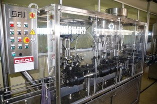 Bottling line at Quevedo