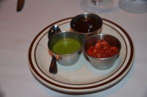 Sauce trio