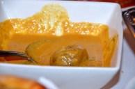 Malai Kofta - vegetable dumpling in creamy almond sauce