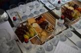 Mise en place - ready for tasting