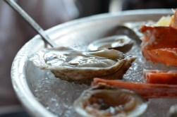 Washington Prime seafood Tower Oysters